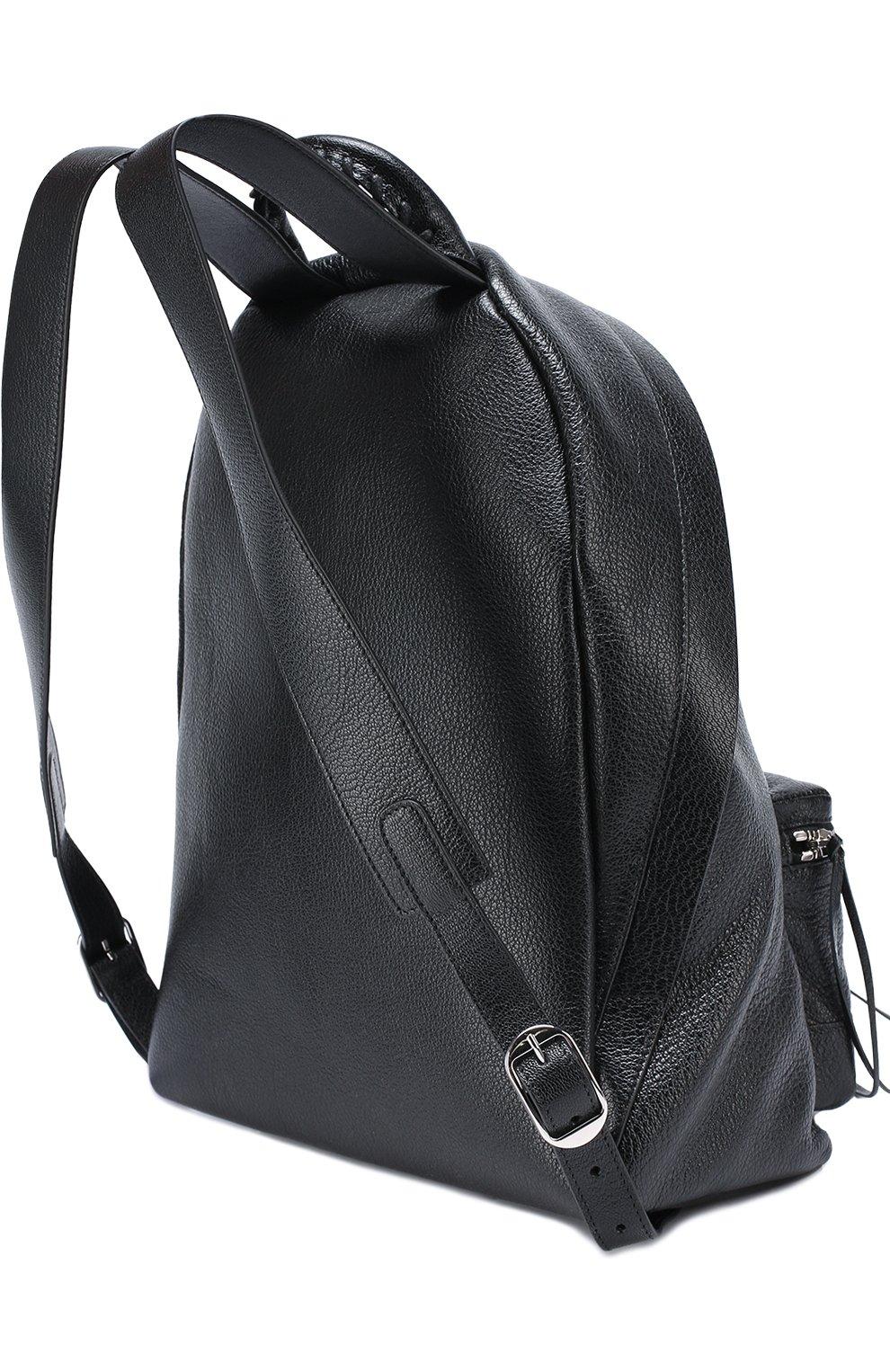 Кожаный рюкзак Metallic Edge | Фото №3