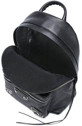 Кожаный рюкзак Metallic Edge | Фото №4