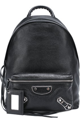 Кожаный рюкзак Metallic Edge | Фото №5