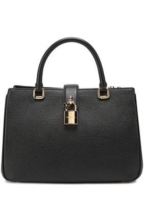 Сумка Dolce Shopping Dolce & Gabbana черная цвета | Фото №1