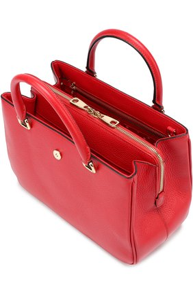 Сумка Dolce Shopping Dolce & Gabbana красная цвета   Фото №3