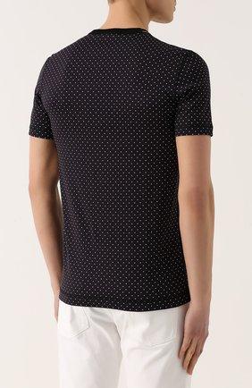 Хлопковая футболка с узором Polka Dot | Фото №4