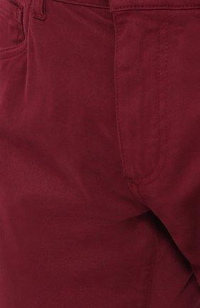 Джинсы прямого кроя из эластичного хлопка | Фото №5