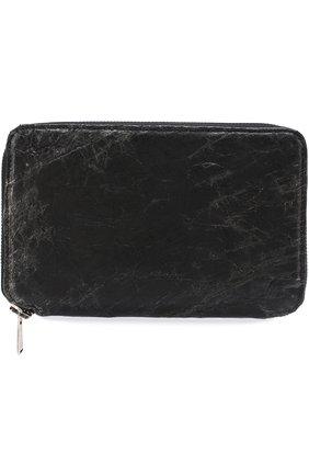 Кожаный футляр для документов с отделениями для кредитных карт и монет | Фото №1