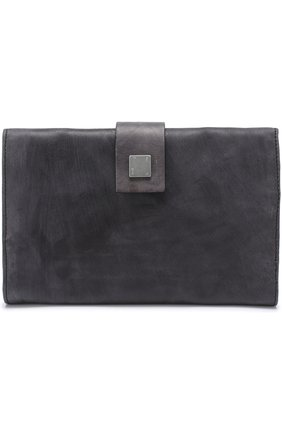 Кожаный футляр для документов с отделениями для кредитных карт | Фото №1