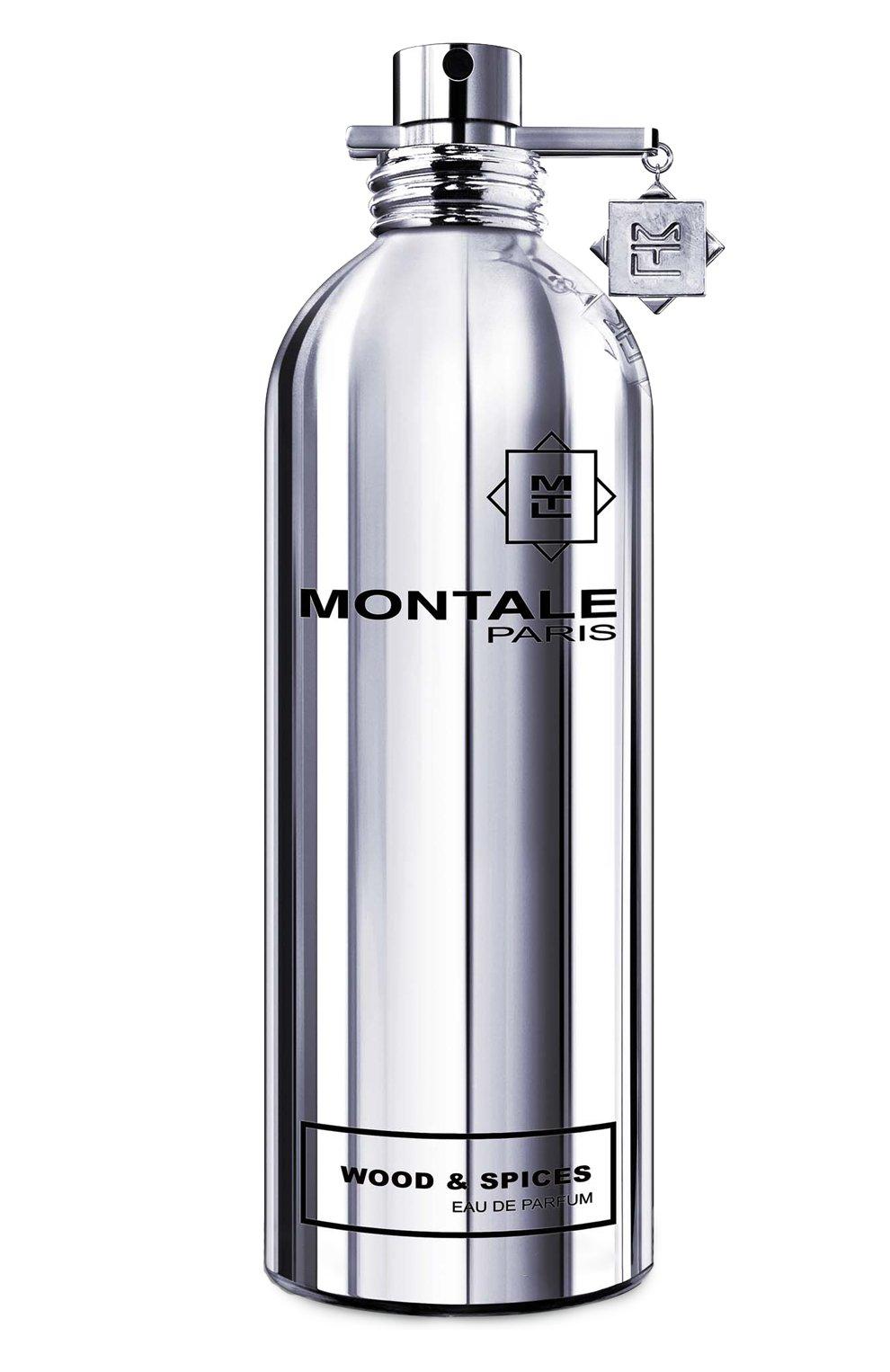Мужской парфюмерная вода wood & spices MONTALE бесцветного цвета, арт. 3713981400970 | Фото 1