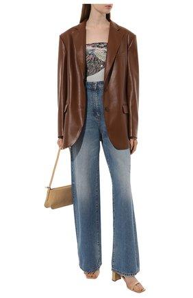 Женский шелковый платок expert RADICAL CHIC серого цвета, арт. 271372.07.02   Фото 2