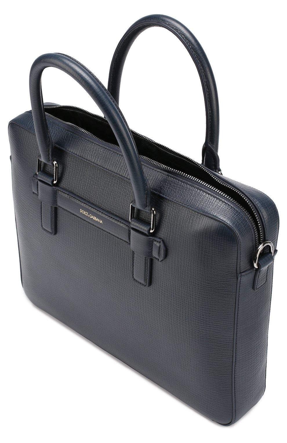 Кожаная сумка для ноутбука Mediterraneo | Фото №3