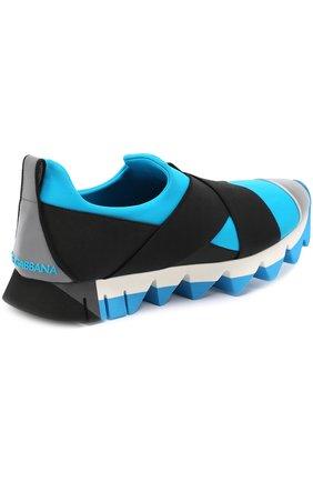 Комбинированные кроссовки Ibiza на рельефной подошве | Фото №3