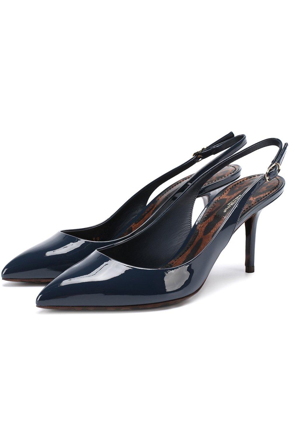 Лаковые туфли Bellucci на шпильке | Фото №1