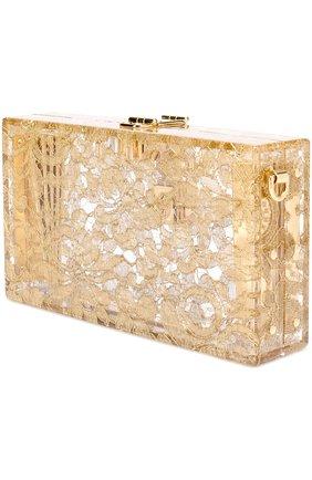 Клатч Dolce Box с кружевом | Фото №3