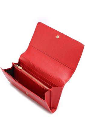 Сумка Sicily Von на цепочке Dolce & Gabbana красного цвета   Фото №3
