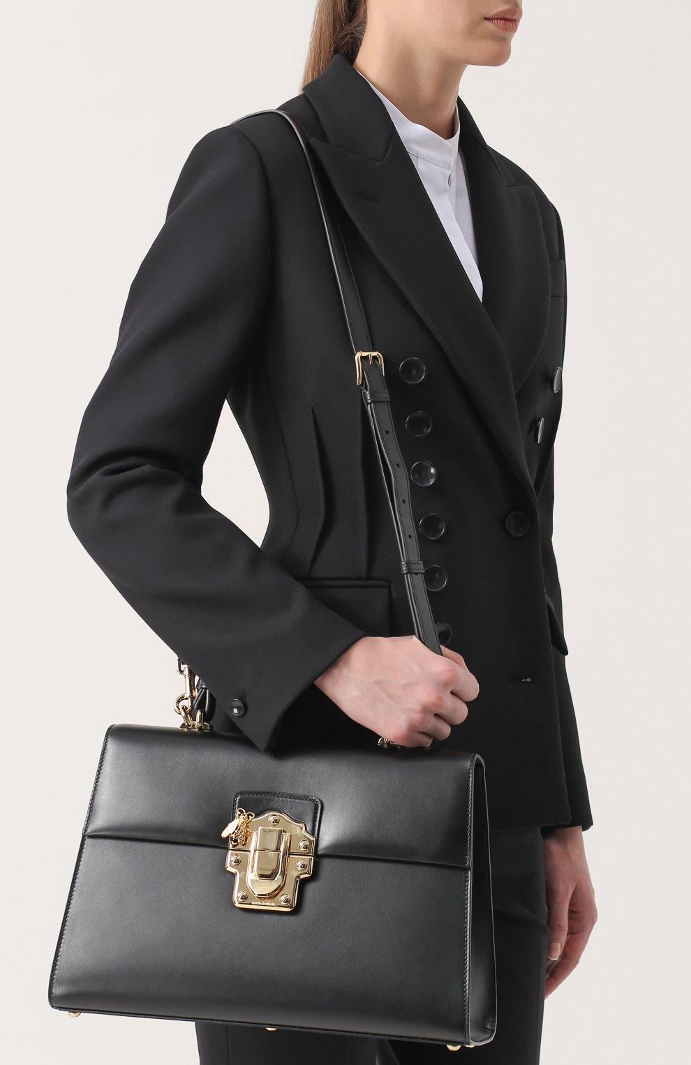 Сумка Lucia Dolce & Gabbana черная цвета | Фото №5