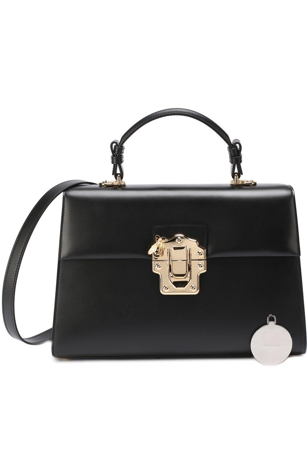 Сумка Lucia Dolce & Gabbana черная цвета | Фото №6