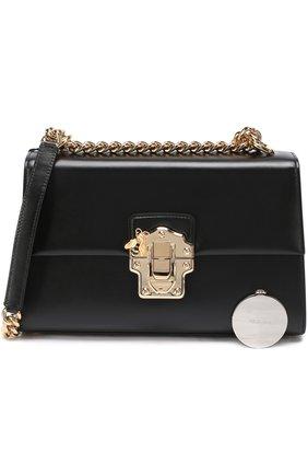 Сумка Lucia Dolce & Gabbana черная цвета | Фото №4