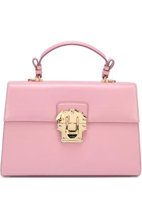 Сумка Lucia Dolce & Gabbana розовая цвета | Фото №1