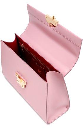 Сумка Lucia Dolce & Gabbana розовая цвета | Фото №3