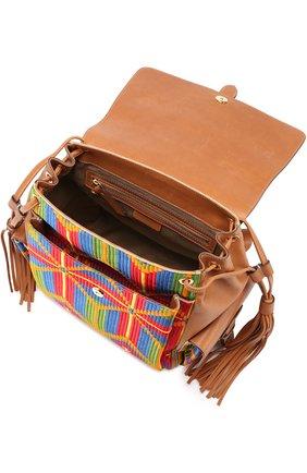 Рюкзак с отделкой текстилем | Фото №3
