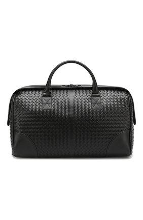 Дорожная сумка с плетением intrecciato   Фото №1