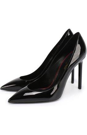 Лаковые туфли Anja на шпильке | Фото №1