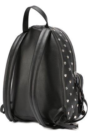 Кожаный рюкзак с заклепками | Фото №2