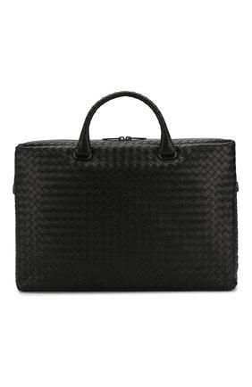 Кожаный портфель с плетением intrecciato | Фото №1