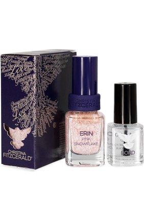 Лак для ногтей Pink Snowflake + Bond-подготовка Christina Fitzgerald | Фото №1
