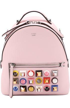Сумка Backpack с заклепками Rainbow | Фото №1
