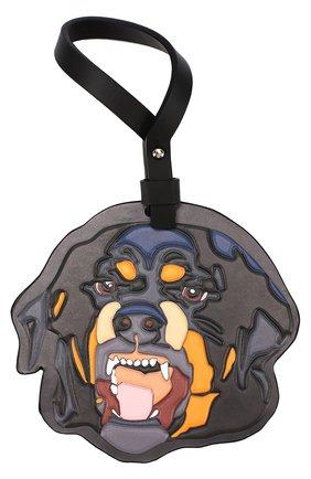 Кожаный брелок для сумки Rottweiler | Фото №1