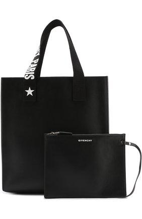 ea6cf9851e93 Женская сумка-шоппер stargaze с косметичкой GIVENCHY черная цвета ...