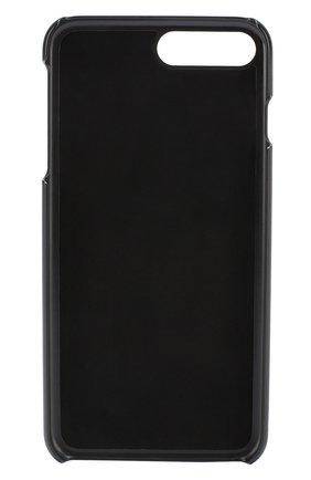 Кожаный чехол для iPhone 7 Plus с принтом Dolce & Gabbana  | Фото №2