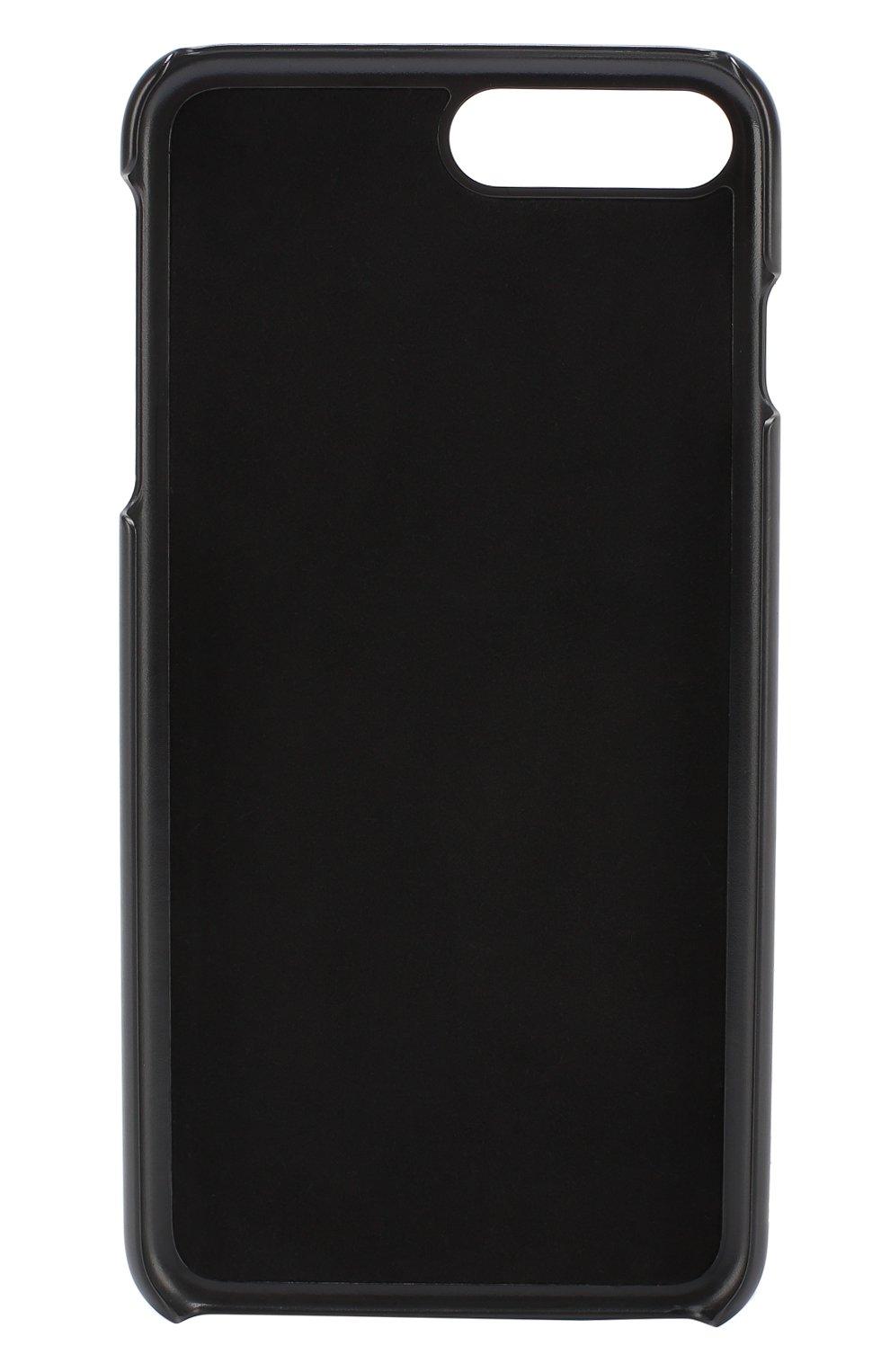 Кожаный чехол для iPhone 7 Plus с принтом | Фото №2