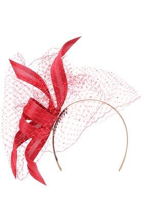 Вечерняя шляпа с декором и кружевом | Фото №1