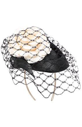 Шляпа с декором и кружевом | Фото №1