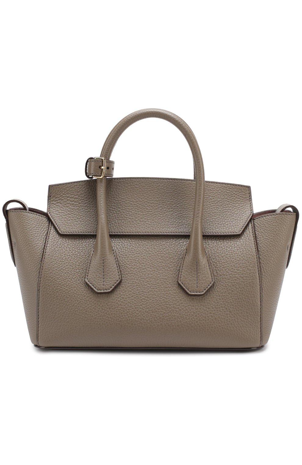 17eb1c66f091 Женская сумка BALLY серая цвета — купить за 89950 руб. в интернет ...
