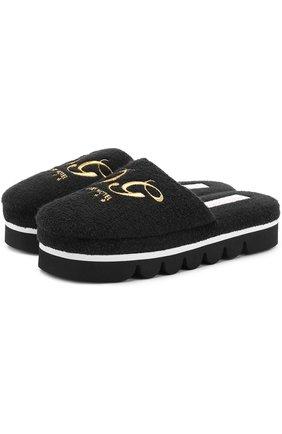 Домашние туфли с вышивкой | Фото №1