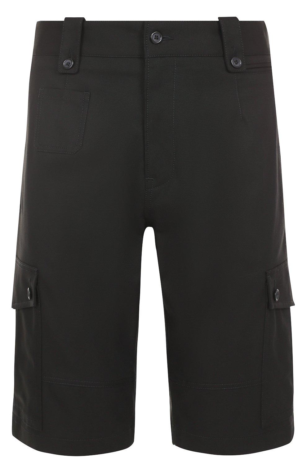 Хлопковые шорты с накладными карманами | Фото №1