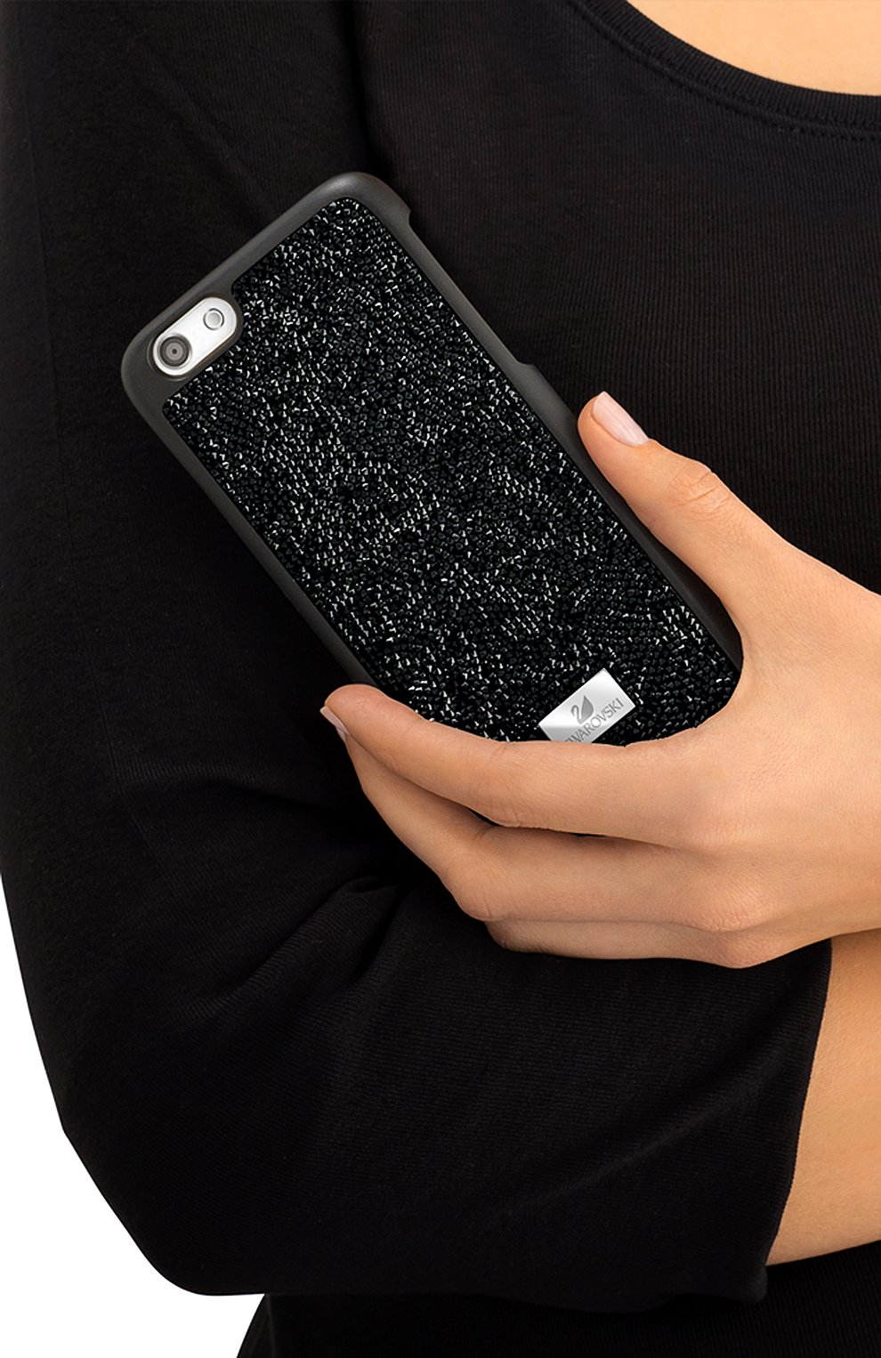 Чехол для iPhone 7 Glam Rock с кристаллами Swarovski   Фото №2