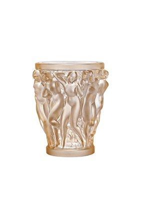 Мужская ваза bacchantes LALIQUE золотого цвета, арт. 10547600 | Фото 1