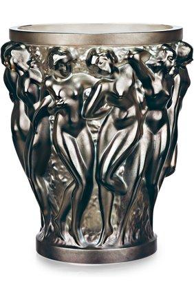 Мужская ваза bacchantes LALIQUE серого цвета, арт. 10547800 | Фото 1