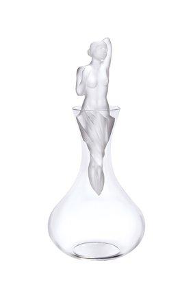Мужской декантер aphrodite LALIQUE прозрачного цвета, арт. 10548200 | Фото 1