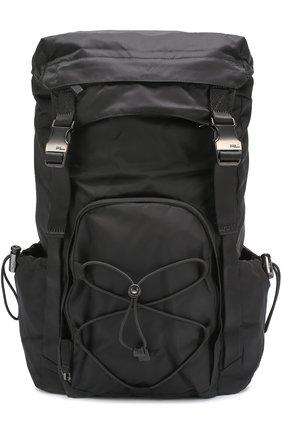 Текстильный рюкзак с клапаном | Фото №1