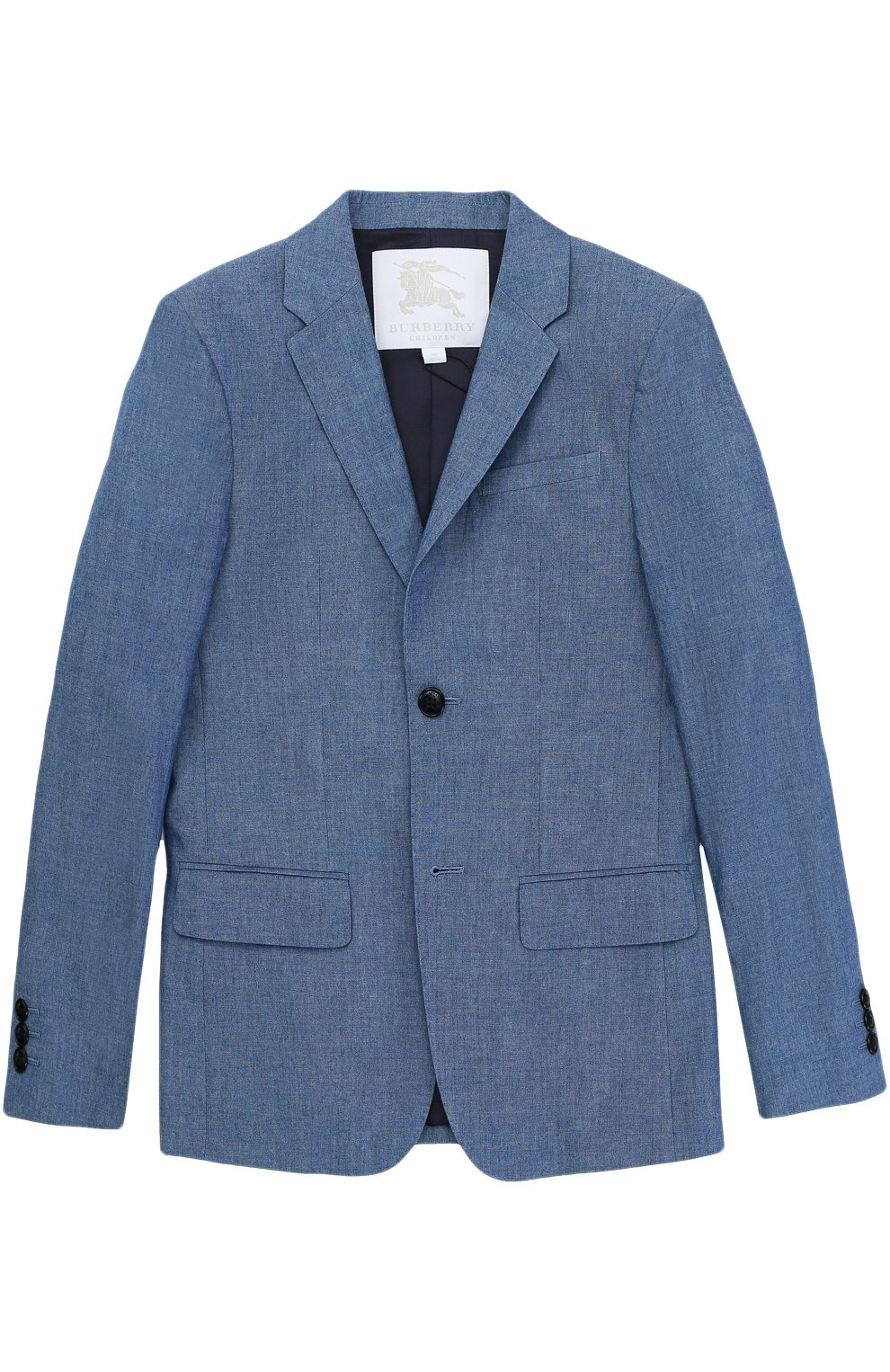 Однобортный хлопковый пиджак  | Фото №1