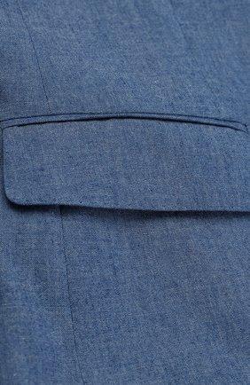 Однобортный хлопковый пиджак  | Фото №3