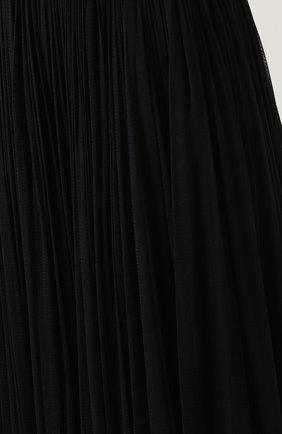 Шелковая пышная юбка-макси Dolce & Gabbana черная | Фото №5