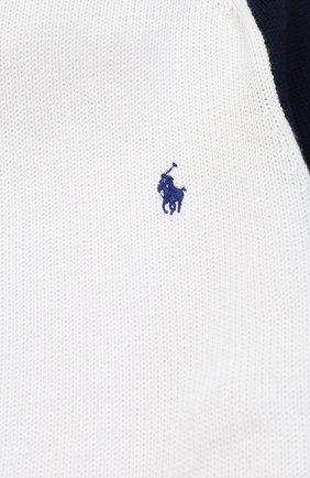 Спортивный кардиган на молнии с контрастными рукавами | Фото №3