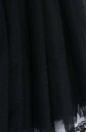 Многоярусная пышная юбка с кружевной отделкой   Фото №3