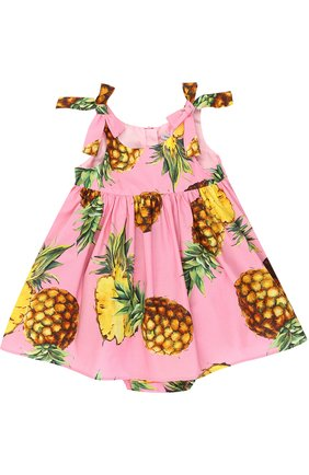 Комплект из платья с принтом и трусов | Фото №1