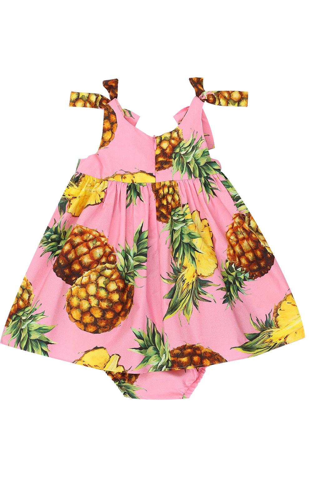 Комплект из платья с принтом и трусов | Фото №2