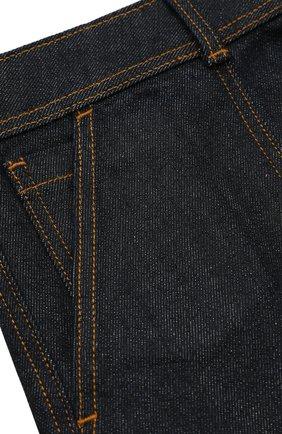 Джинсовая юбка с накладными карманами | Фото №3